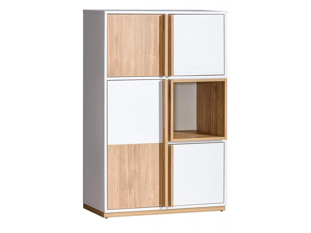 ENIF E5 dizájnos polcos szekrény