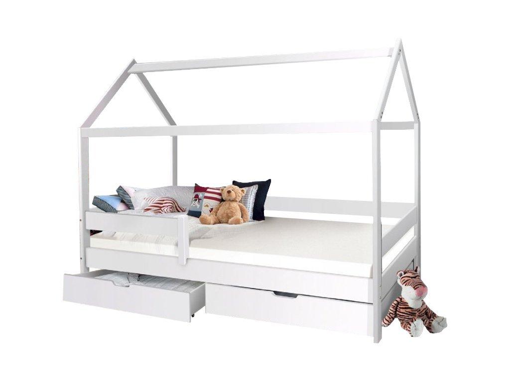 MÁRTON házikó ágy 200x90