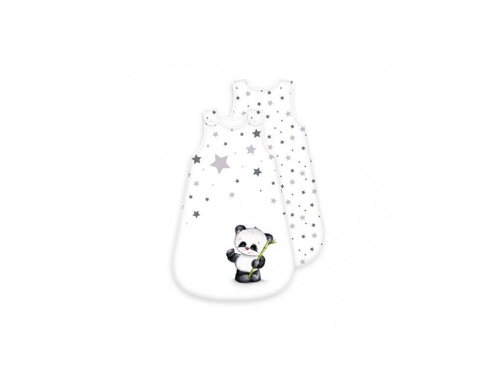 Gyerek pamut hálózsák - panda maci