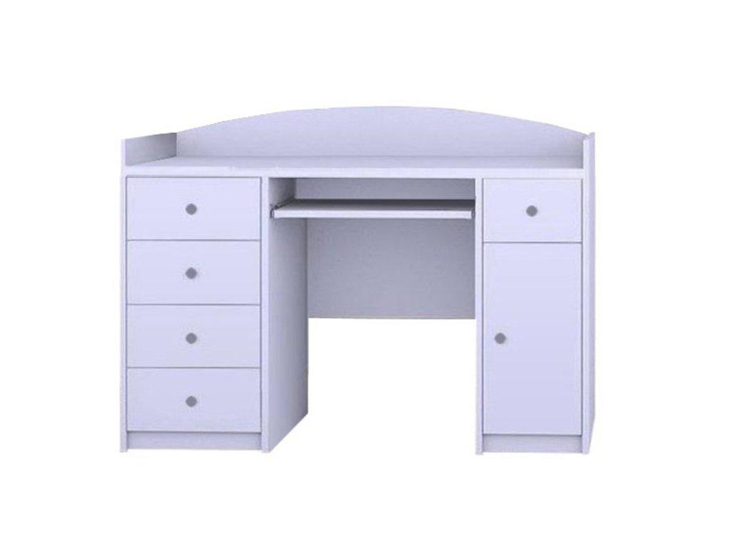 MERY B01 íróasztal - fehér