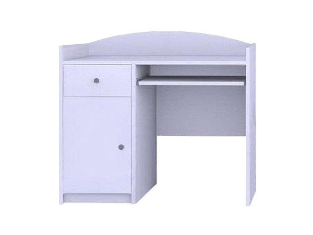 MERY B09 íróasztal - fehér