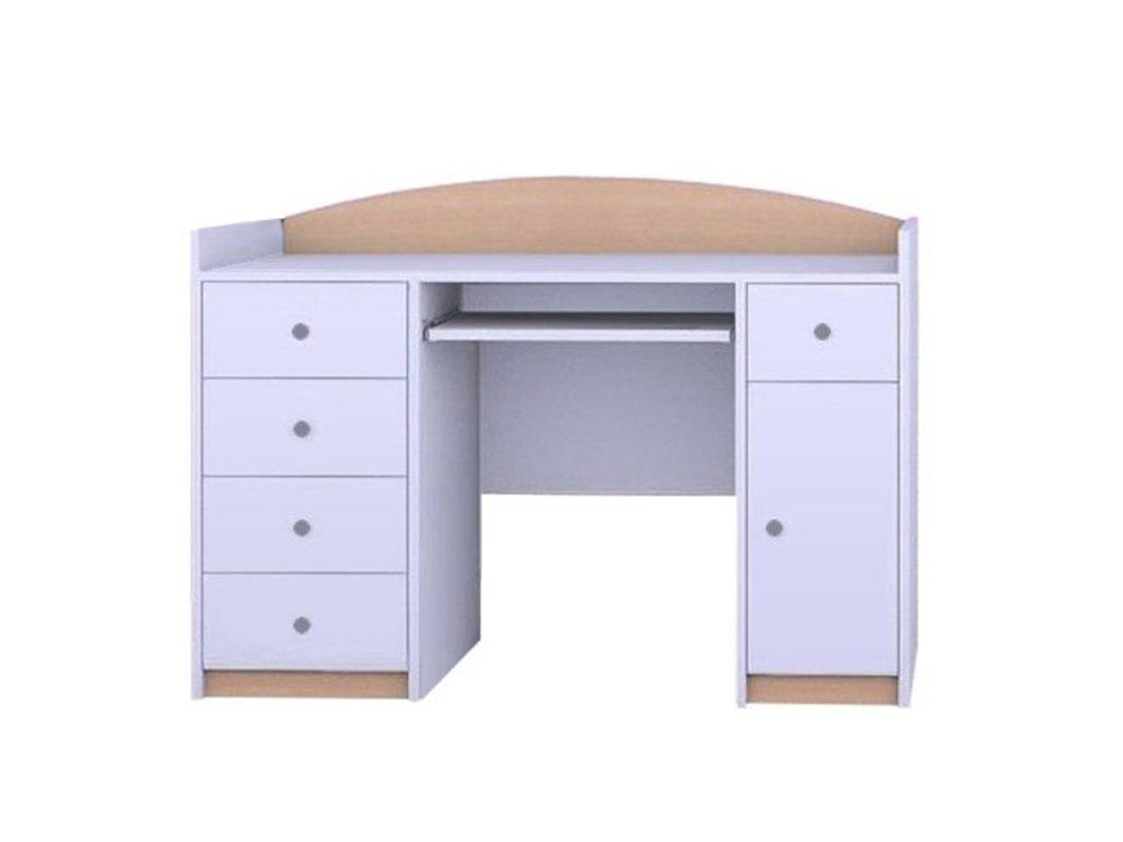 MERY B01 íróasztal - világos körte
