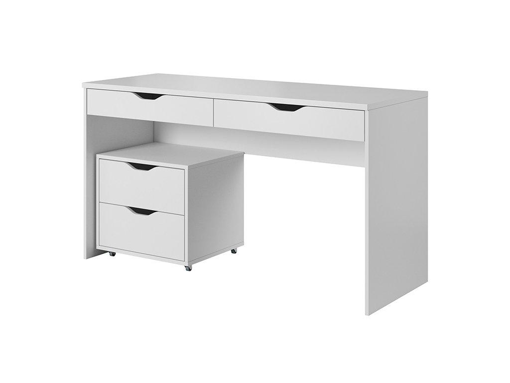Helix íróasztal konténerrel