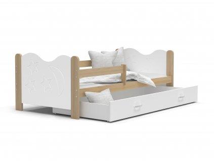 MIKO gyerekágy ágyneműtartóval