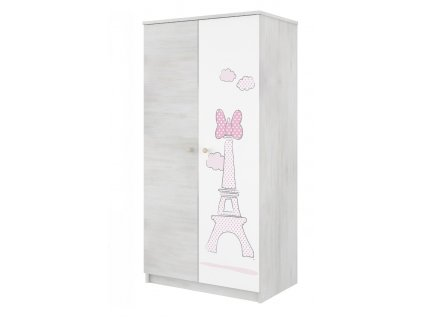 Disney Minnie Paris 80 szekrény gyerekszobába