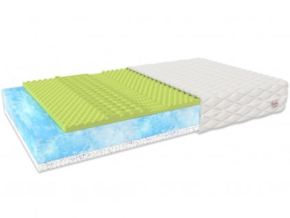 Légáteresztő latex matrac Mariana 200x160