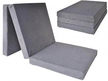 Összehajtható matrac 195x80x10
