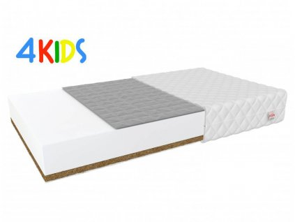 Matrac gyerekeknek hajdina/kókusz Bambino Console 184x80