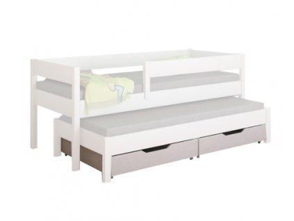 Tároló fiók a Junior ágyhoz - fehér