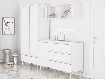 TIP 6 bútorsor - fehér