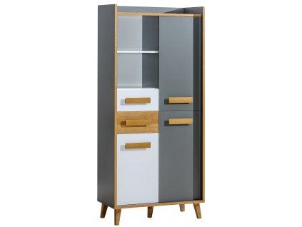 VASAT 3 polcos szekrény