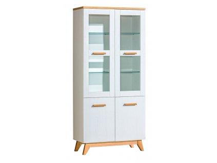 SKAT 3 üveges szekrény
