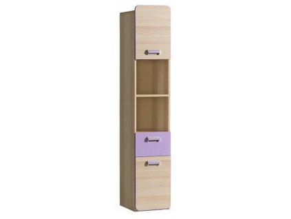 LUCAS L3 polcos szekrény