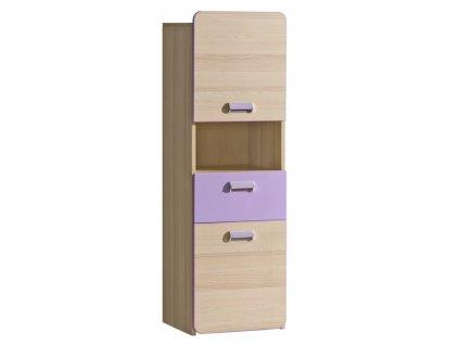 LUCAS L4 polcos szekrény