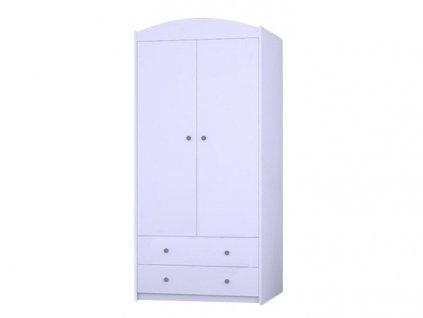MERY SZ06 89 ruhásszekrény - fehér