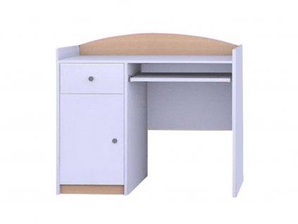 MERY B09 íróasztal - világos körte