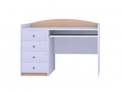 MERY B03 íróasztal - világos körte