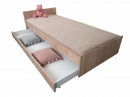 Max ágy - sonoma tölgy