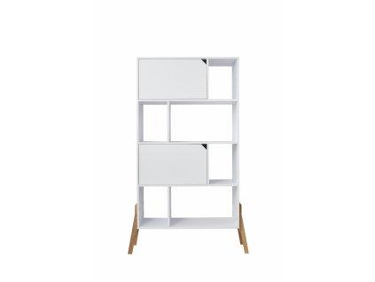 JULKO polcos szekrény - fehér