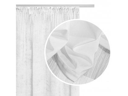 VELVET sötétítő függöny 140x270 - fehér