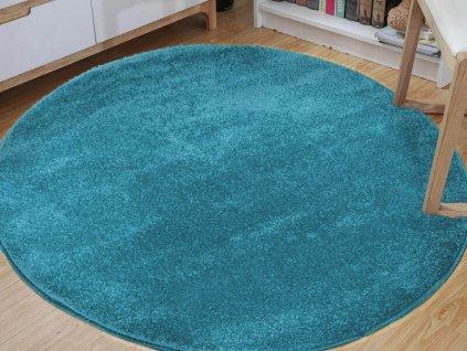 LORA BLUE kerek szőnyeg - kék