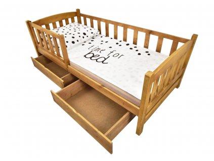 OLGA 2 ágy - tölgy