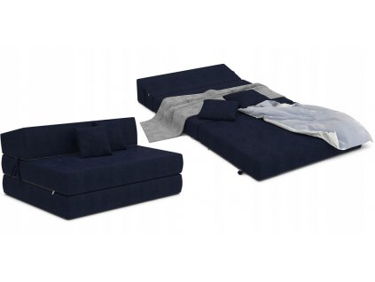 Összehajtható fotelágy 200x120 Gránát