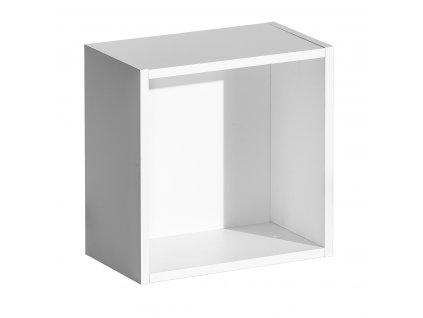 ENIF E15 kocka falai polc - fehér