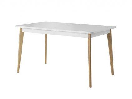 BARMI / PRÁGA bővíthető étkezőasztal - fehér
