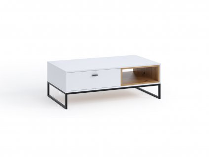 CORA dohányzóasztal - fehér
