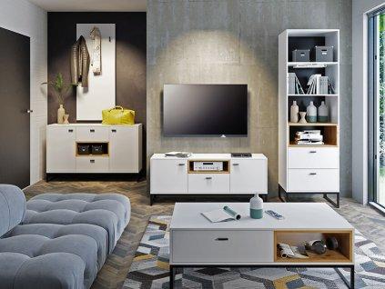 CORA nappali bútor szett - fehér