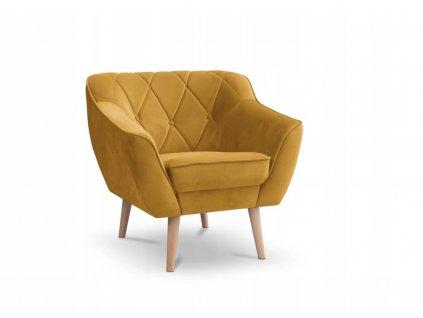 DEANA fotel - sárga
