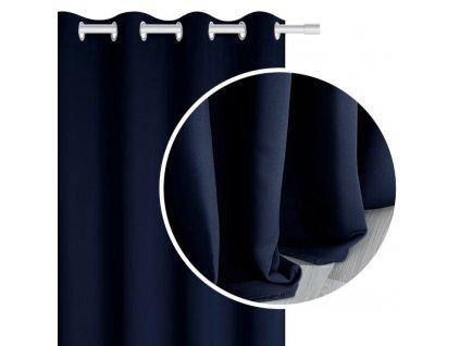 TAMIA sötétítő függöny 140x250 - kék
