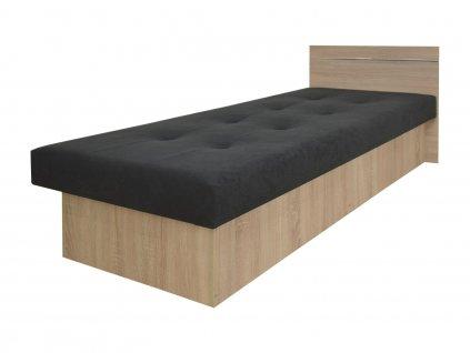 EMILY PLUSZ ágyneműtartós ágy - sonoma tölgy