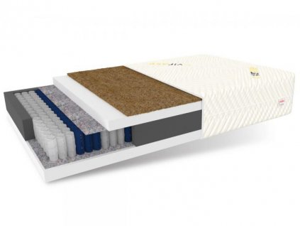 PROTEX táskarugós matrac kókusszal 100x200