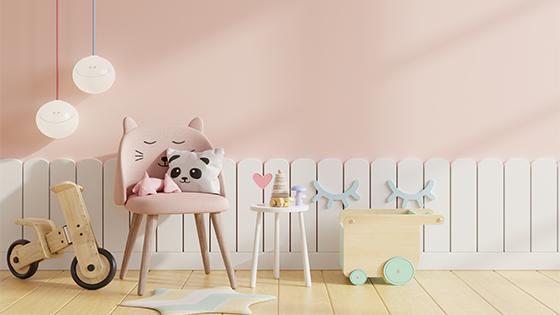 Farba do detskej izby – na toto nesmiete zabudnúť