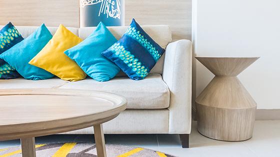 Dekoračné vankúše do spálne, obývačky aj na terasu