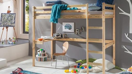 Detské vyvýšené postele
