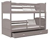 Poschodové postele 184x80
