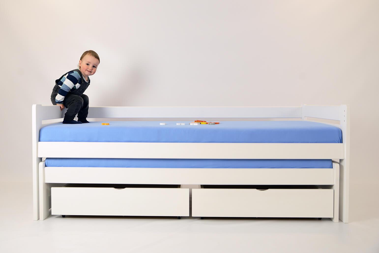 Rozkladacia detská posteľ - nenechajte sa prekvapiť návštevou!