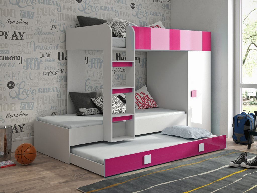 Deti jednoducho milujú poschodové postele