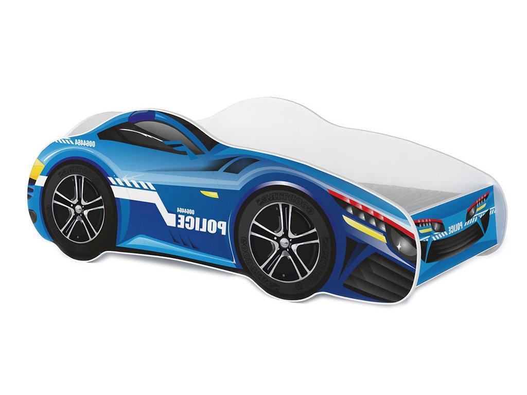 Auto Racing Car 07 detská posteľ