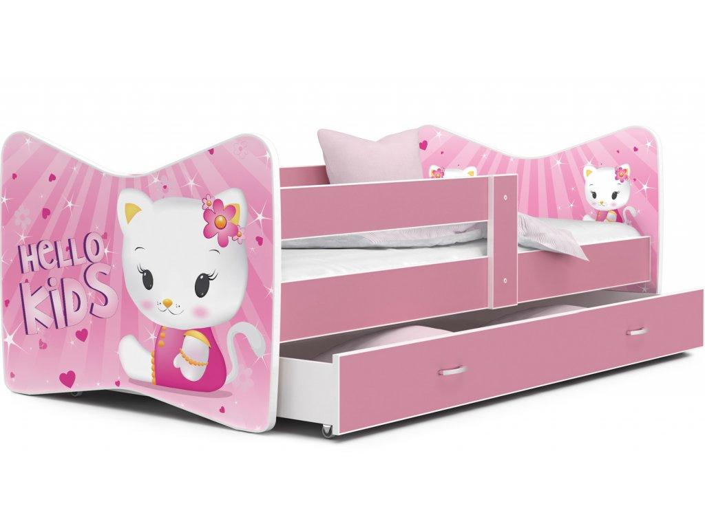 Tomášek 160x80 Hello Kids č.8 detská posteľ