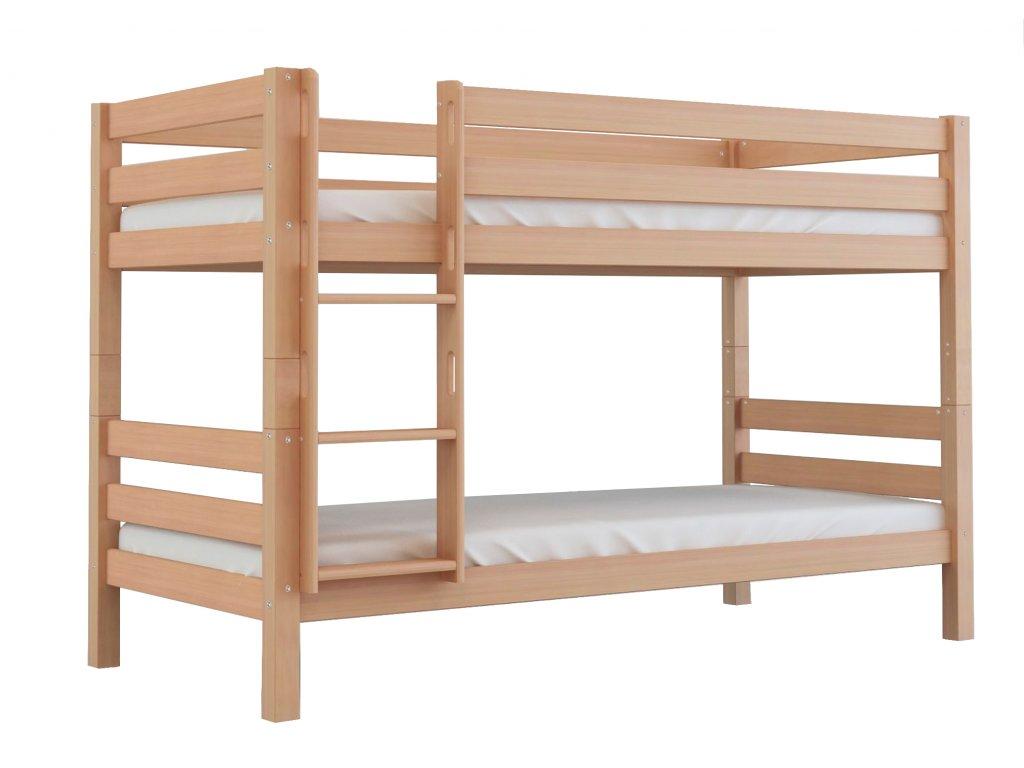 Poschodová posteľ Oliver (200X90) - buk