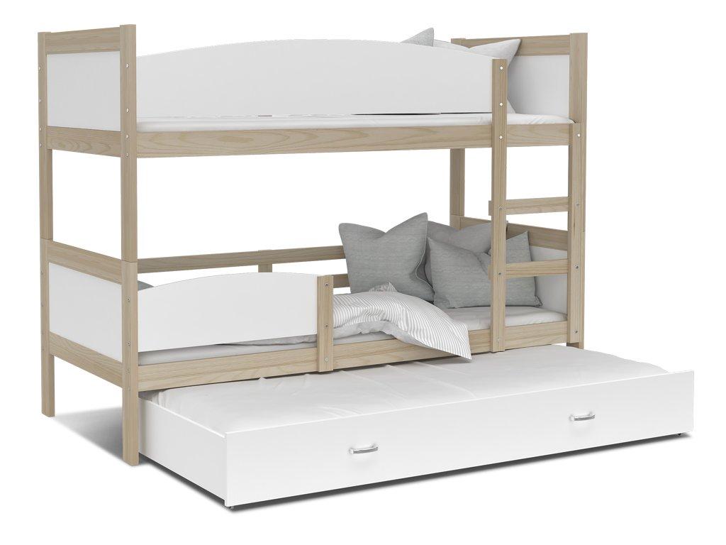Poschodová posteľ Twist 3 Color
