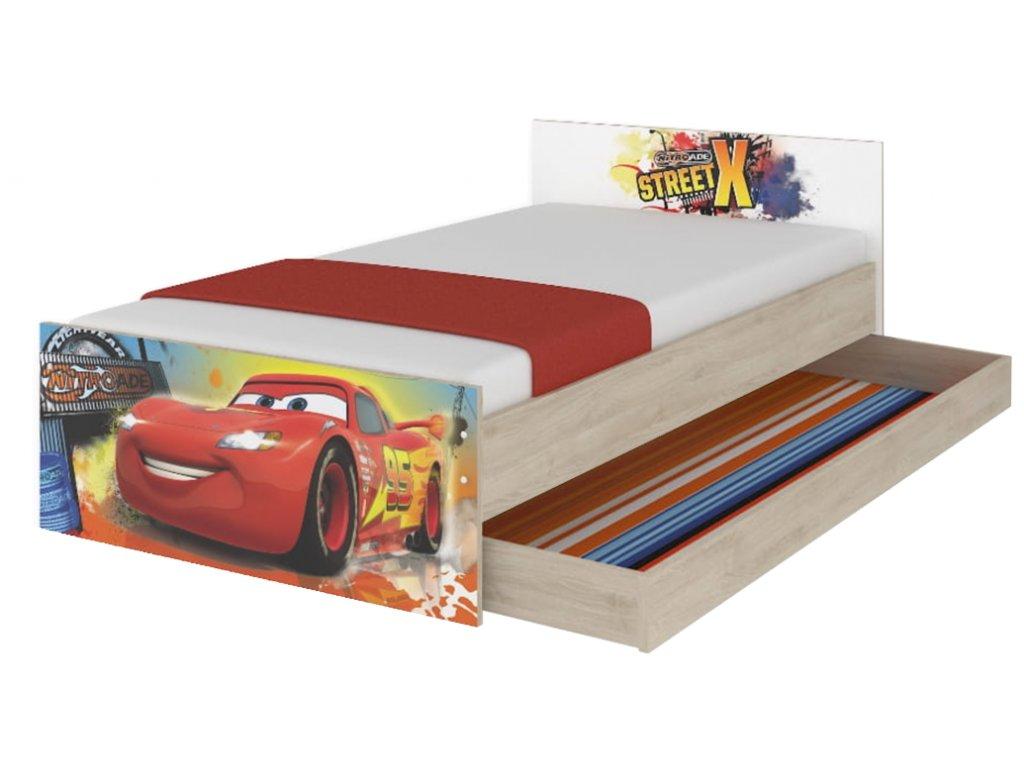 Max Disney Cars XL detská posteľ 180x90