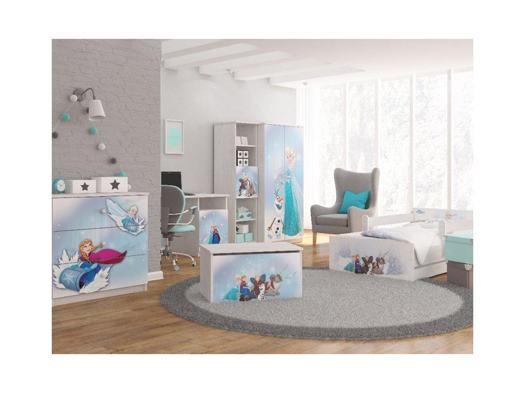 Detská izba Frozen Max X Disney 160x80
