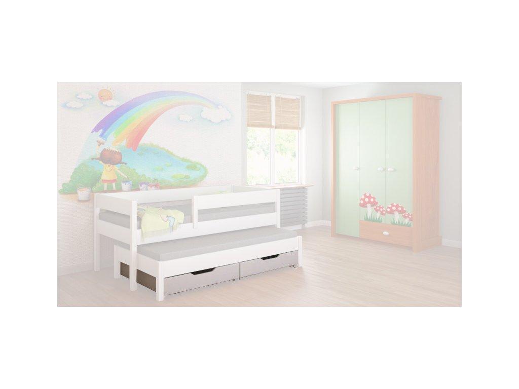 Šuflík pre detskú posteľ Junior 140