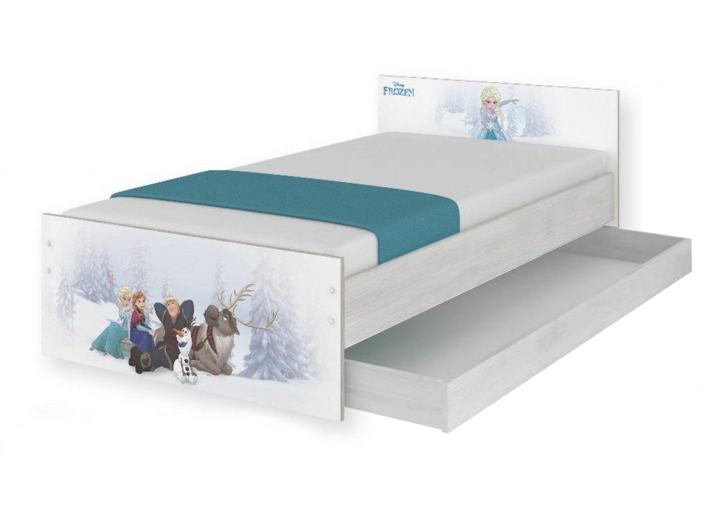 Detská posteľ Disney Frozen Max 180x90 - nórska borovica