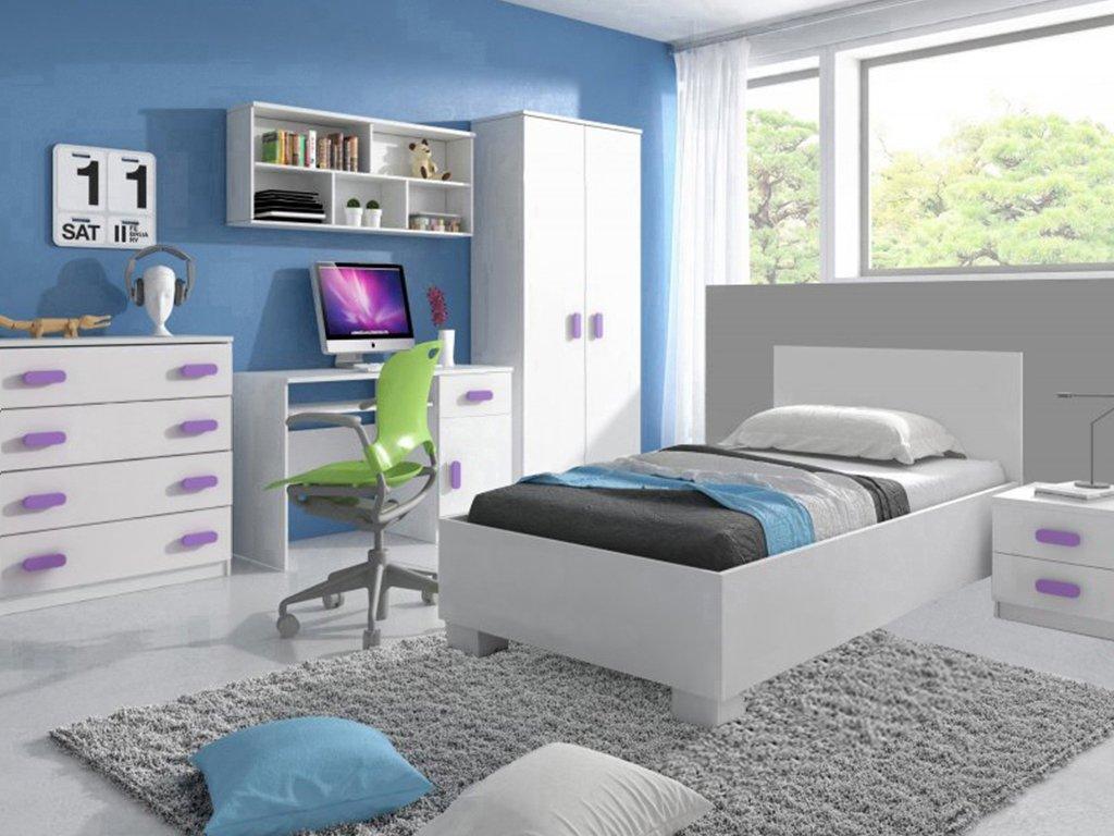 Detská izba LOOP fialová